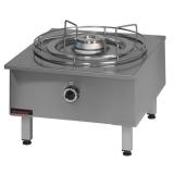 Taboret gastronomiczny gazowy 1-palnikowy TG-1F 000.TG-1F