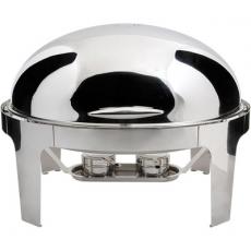 Podgrzewacz stołowy owalny Roll-Top De Lux<br />model: 437030<br />producent: Stalgast