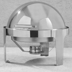 Podgrzewacz stołowy ROLLTOP okrągły<br />model: 470312/W<br />producent: Hendi