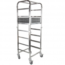 Wózek do transportu koszy do zmywarki<br />model: 810583<br />producent: Hendi