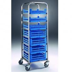 Wózek do transportu koszy do zmywarki CCV-7<br />model: 2432110<br />producent: Edenox