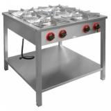 Kuchnia gastronomiczna gazowa 4-palnikowa TG-420.III