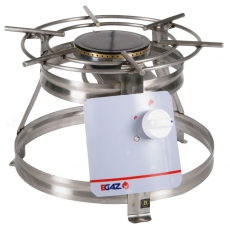 Taboret gastronomiczny gazowy 1-palnikowy | EGAZ KG-110<br />model: KG-110<br />producent: Egaz