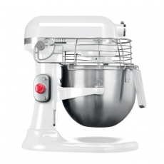 Mikser planetarny do ciast Kitchen Aid Professional 6,9 l<br />model: T-5KSM7990XEWH<br />producent: KitchenAid