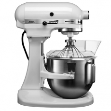 Mikser planetarny Kitchen Aid Heavy Duty 5 l<br />model: T-5KPM5EWH<br />producent: KitchenAid