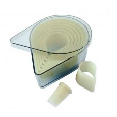 Wycinarka łza gładka<br />model: D-4304-10<br />producent: de Buyer