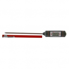 Termometr elektroniczny z etui<br />model: T-1107<br />producent: Tom-Gast