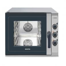 Piec konwekcyjno-parowy elektryczny manualny<br />model: 223819<br />producent: Grafen