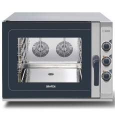 Piec konwekcyjno-parowy elektryczny manualny<br />model: 223796<br />producent: Grafen