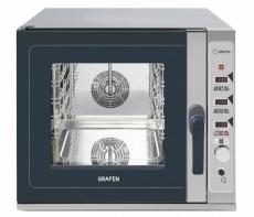 Piec konwekcyjno-parowy elektryczny elektroniczny<br />model: 223802<br />producent: Grafen