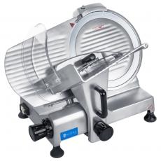 Krajalnica elektryczna do wędlin RCAM 220PRO<br />model: 10010170/W<br />producent: Royal Catering