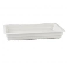 Pojemnik GN 1/1 gł. 2,2 cm porcelanowy biały RAK<br />model: R-BUGN-11022-3<br />producent: Rak