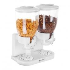 Dozownik do płatków śniadaniowych RCCS-7L/2<br />model: 10010706/W<br />producent: Royal Catering