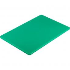 Deska z polietylenu HACCP zielona<br />model: 341452/W<br />producent: Stalgast