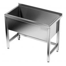 Basen nierdzewny 1-komorowy (gł. 40 cm)<br />model: E2810/1200/700/400<br />producent: M&M Gastro