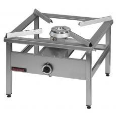 Taboret gastronomiczny gazowy 1-palnikowy | KROMET 000.TG-1<br />model: 000.TG-1<br />producent: Kromet