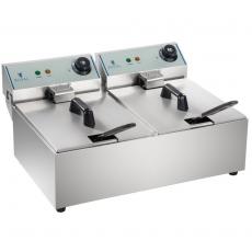Frytownica elektryczna RCEF-10DY-ECO<br />model: 10010255/W<br />producent: Royal Catering