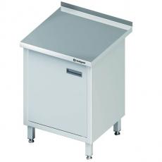 Stół roboczy nierdzewny z szafką<br />model: 980147060<br />producent: Stalgast