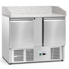 Stół chłodniczy 2-drzwiowy do pizzy<br />model: FG07302<br />producent: Forgast
