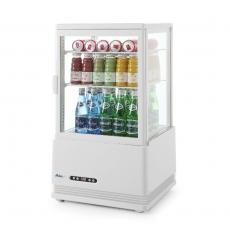 Witryna chłodnicza 58 l biała<br />model: 233610<br />producent: Arktic