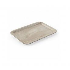 Taca kelnerska z nadrukiem drewna<br />model: 508909<br />producent: Hendi
