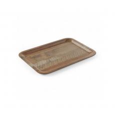 Taca kelnerska z nadrukiem drewna<br />model: 508916<br />producent: Hendi