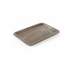 Taca kelnerska z nadrukiem drewna<br />model: 508923<br />producent: Hendi
