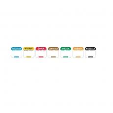 Naklejka FOOD SAFETY wielorazowa - środa<br />model: 850091<br />producent: Hendi
