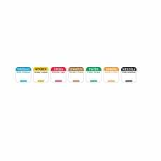 Naklejka FOOD SAFETY wielorazowa - piątek<br />model: 850114<br />producent: Hendi