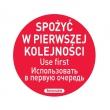 Naklejka FOOD SAFETY - 850152