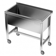 Basen nierdzewny jezdny (gł. 40 cm)<br />model: E2830/800/700/400<br />producent: M&M Gastro