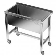 Basen nierdzewny jezdny (gł. 40 cm)<br />model: E2830/900/700/400<br />producent: M&M Gastro