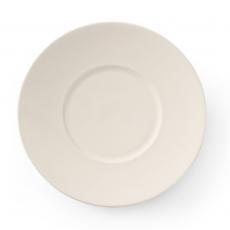 Talerz płytki porcelanowy z szerokim rantem CREMA<br />model: 770344<br />producent: Fine Dine