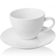 Filiżanka elegancka espresso ze spodkiem porcelanowa BIANCO<br />model: 770177<br />producent: Fine Dine