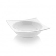 Miska kwadratowa porcelanowa BIANCO<br />model: 770047<br />producent: Fine Dine