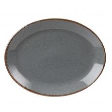 Półmisek owalny STONE<br />model: 04ALM002442<br />producent: Porland - porcelana gastronomiczna