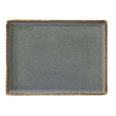Półmisek prostokątny STONE<br />model: 04ALM002456<br />producent: Porland - porcelana gastronomiczna