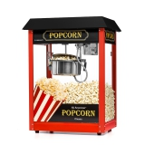 Maszyna do popcornu z czarnym daszkiem - FG09303