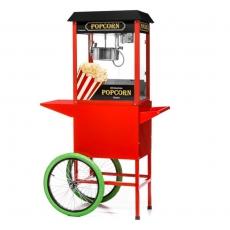 Maszyna do popcornu z wózkiem<br />model: FG09301<br />producent: Forgast