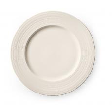Talerz płytki porcelanowy z wąskim rantem MANHATTAN<br />model: 797112<br />producent: Luzerne