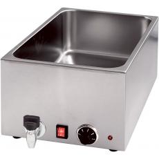 Bemar elektryczny stołowy z kranem<br />model: 741156<br />producent: Stalgast