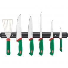Zestaw noży Sanelli z listwą<br />model: 200008<br />producent: Sanelli