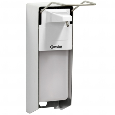 Dozownik do mydła do montażu naściennego<br />model: 850008/W<br />producent: Bartscher