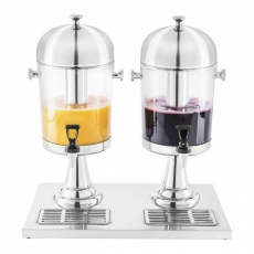 Dozownik podwójny do soków RCSD-2<br />model: 10010334/W<br />producent: Royal Catering
