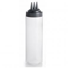 Butelka 0,7 l z 3 nalewakami<br />model: T-61977<br />producent: Tom-Gast