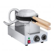 Gofrownica elektryczna bąbelkowa RCWM-1400-B<br />model: 10010732<br />producent: Royal Catering
