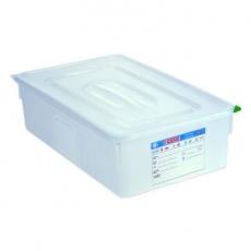 Pojemnik GN 1/1 gł. 20 cm z polipropylenu biały<br />model: 161205/W<br />producent: Araven