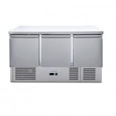 Stół chłodniczy 3-drzwiowy z agregatem dolnym<br />model: FG14003/FG07003<br />producent: Forgast