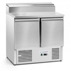 Stół chłodniczy 2-drzwiowy sałatkowy z nadstawką nierdzewną<br />model: FG07402<br />producent: Forgast