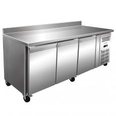 Stół chłodniczy 3-drzwiowy z agregatem bocznym<br />model: FG07123<br />producent: Forgast